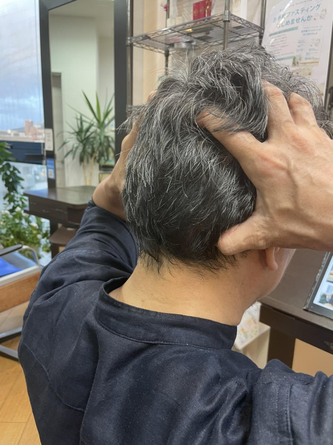 頭皮マッサージ6